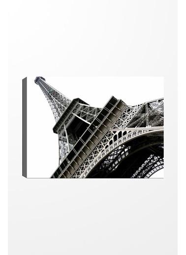 Chic Life Chic Life Eyfel Kulesi Kanvas Tablo -50x70cm Renkli